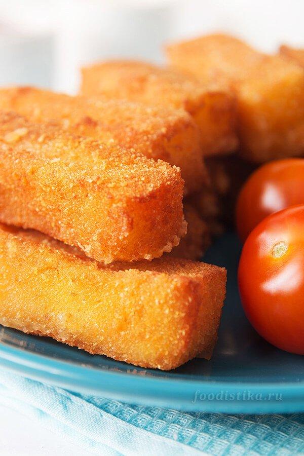 Жареный сыр в панировке