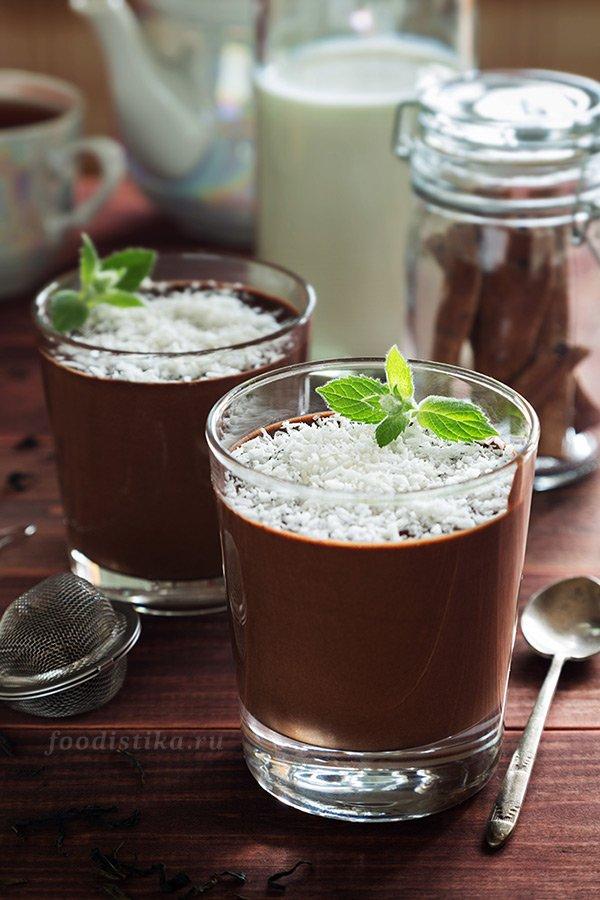 шоколадный крем мусс рецепт пошагово