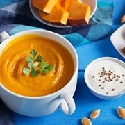 Вегетарианский тыквенный крем суп - рецепт пошагово с фото