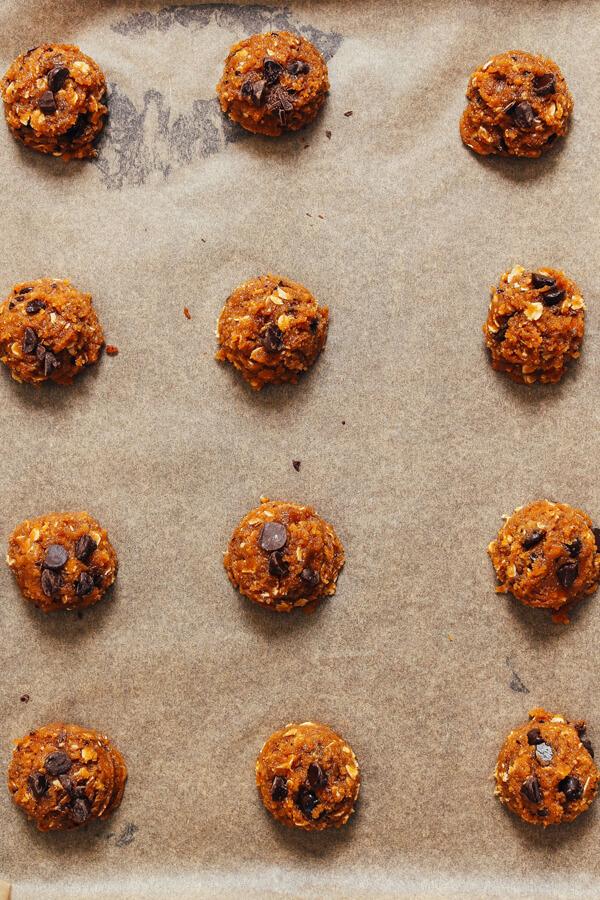 Овсяное печенье с арахисовой пастой и шоколадом – рецепт с фото пошагово